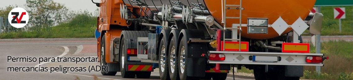 Curso de obtención del permiso para transportar mercancías peligrosas (ADR)