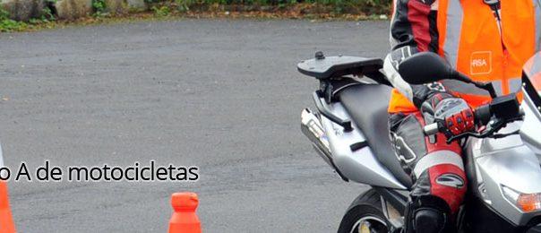 Curso para el permiso A de motocicletas